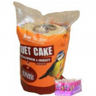 Suet to Go Cake & Hang Insect